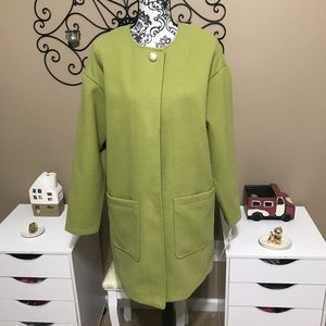 Kenneth Cole Citronelle Green Career Coat
